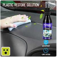 TUBEER 120ml Kunststoff teile sanierung mittel Automotive Innen wachs Auto & Kunststoff Renoviert Beschichtung Paste Mittel #3O25