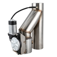 Válvula de descarga de aço inoxidável universal recorte de escape elétrico cortado com controle remoto sem fio VR-CT93