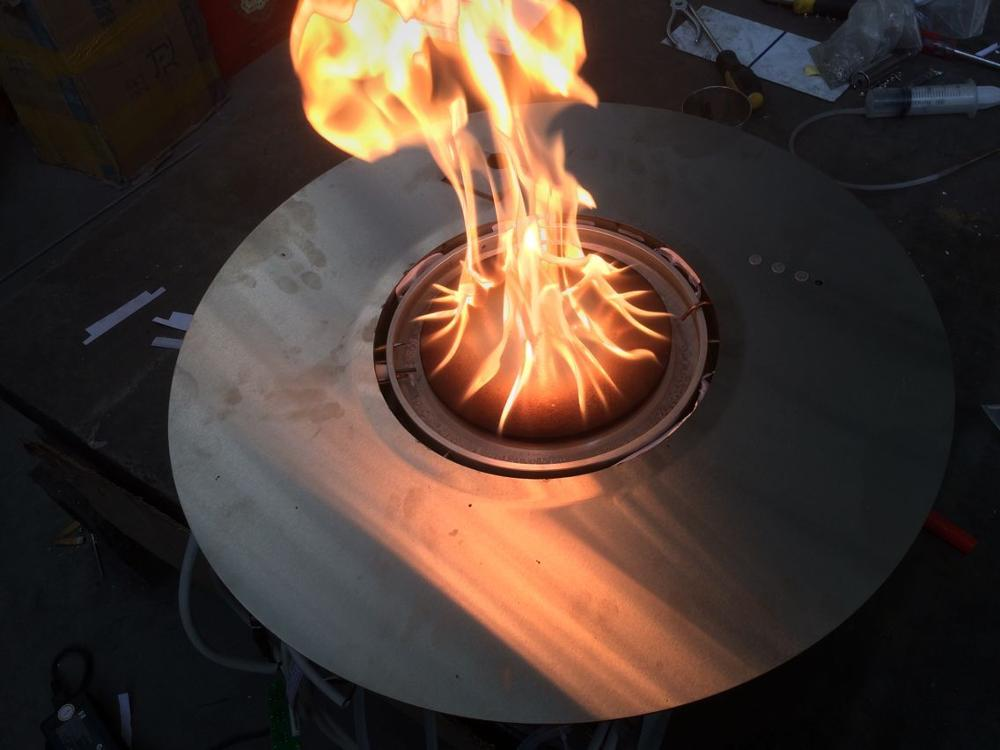Hot Sale Intelligent Chimenea Etanol Burner With Remote Inserts