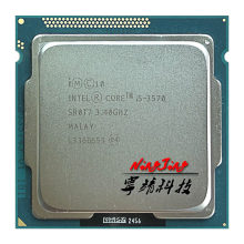 Intel Core i5-3570 i5 3570 3.4 GHz Quad-Core CPU Processor 6M 77W LGA 1155(China)