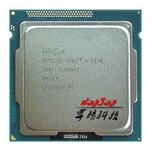 Intel processador quad core, processador de i5 3570 ghz quad core cpu 6m 77w lga 3570 da intel core 3.4 i5 1155 ghz