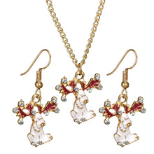 2019 Kettingen Collar Rushed Collares Moana New Christmas Three-dimensional  Necklace Set Drilled Oil Elk
