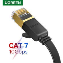 Ugreen Ethernet Kabel RJ45 Cat7 Lan Kabel Utp Rj 45 Netwerk Kabel Voor Cat6 Compatibel Patch Cord Voor Modem Router kabel Ethernet(China)