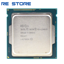 CPU Processor Intel Xeon 1246v3 Lga 1150 Quad-Core E3 Used Eight-Thread 84W