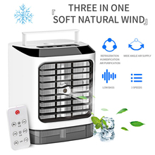 Cooling-Fan Air-Conditioner-Fan Mini Remote-Control with Three-Gear/mode Air-Frost Dropship