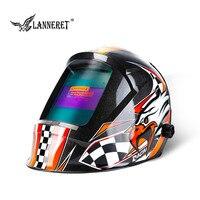 LANNERET MMA MIG TIG Welding Mask Welding Helmet Eagle for Welding Machine for Soldering Welder Cap for Welding Welding Helmets     -