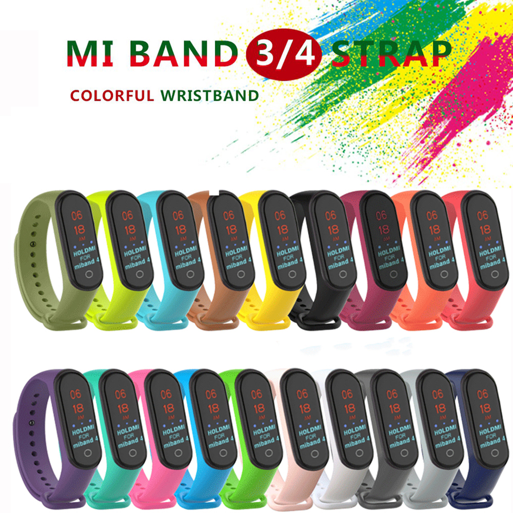 LEMFO Wrist-Strap Mi-Band Smart-Bracelet 4-Accessories Silicone Xiaomi for 3 Replacement