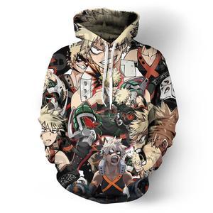 Image 4 - Anime My Hero Academia Todoroki Shoto Hoodie Sweatshirts Jacket Cosplay Costume Unisex School Uniforms Tops