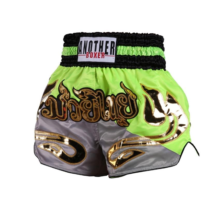 Шорты для тайского бокса mma muay thai Мужские боксерские шорты