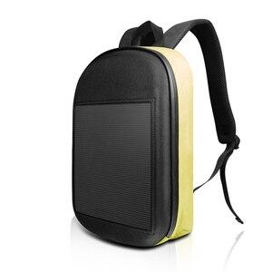 Image 4 - SOL LED écran affichage LED sac à dos bricolage sans fil Wifi APP contrôle publicité sac à dos en plein air LED marche panneau daffichage sac à dos