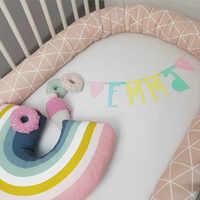 Baby Bed Bumper Newborn Pillow Cushion Bumper for Infant Bebe Crib Bedding Set Protector Cot Baby Room Decor Chichonera Crib