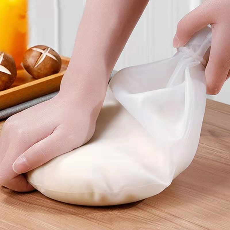 1.5kg/3kg Silicone Kneading Bag Pastry Blenders Cooking Pastry Tool Flour-mixing Soft Knead Bag Dough Blender Set Kitchen Gadget