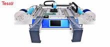 Best sale SMT Production line: 3040 Stencil printer + CHMT48VB pick and place machine + vibration feeder+ Reflow oven BRT-420 juki feeder cf ctf 8mm 8 4mm feeder 8x4mm 0603 feeder for smt pick and place machine