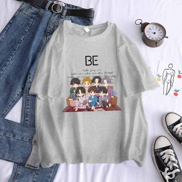 BTS BE ALBUM THEMED T-SHIRT