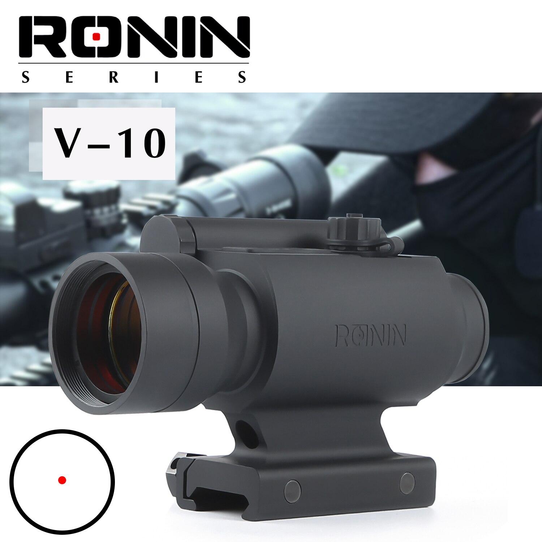 V-10 profesjonalny kolimator red dot celownik kombinowany do karabinu kolejowego 20mm airsoft na zewnątrz polowanie zakres luneta optyka myśliwska