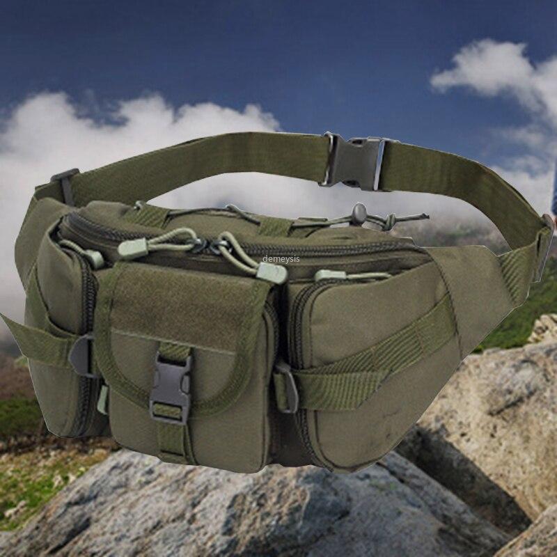 Outdoor Sports Hunting Waist Bag Utility Tactical Waist Bags Durable Military Shooting Tools Waist Pack Hiking Climbing Bag
