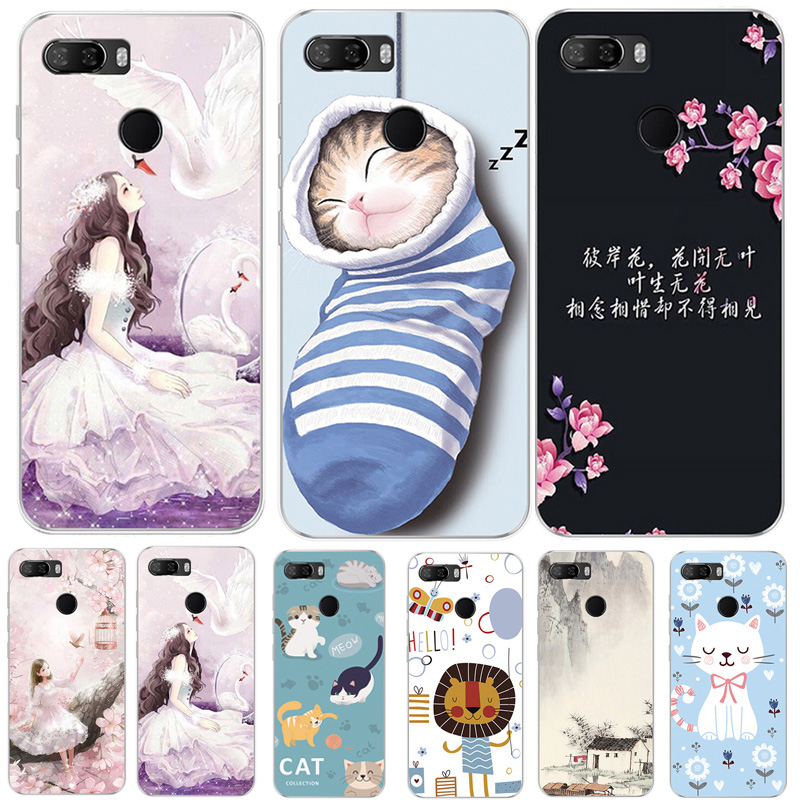 For <font><b>Lenovo</b></font> K5 Play Case Soft TPU Silicone Cover Cute Cat Dog Cartoon Coque For <font><b>Lenovo</b></font> K5 Play <font><b>L38011</b></font> K5Play Phone Back Cover 5.7 image
