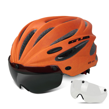 GUB K80 Cycling Helmet with Visor Magnetic Goggles Integrally-molded 58-62cm for Men Women MTB Road Bicycle  Bike Helmet 27