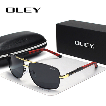 OLEY Brand Polarized Sunglasses Men New Fashion Eyes Protect Sun Glasses With Accessories Unisex driving goggles oculos de sol 4