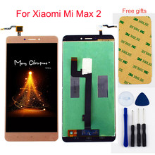 For Xiaomi Mi Max 2 Max2 LCD Display Panel Module + Touch Screen Digitizer Sensor Assembly(China)