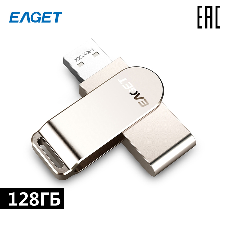 Eaget F60-128 USB 3.0 GB 128 GB For LAPTOP PC [delivery From Russia]