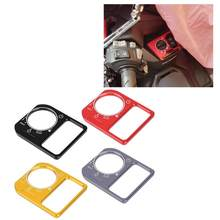 Motorcycle CNC Aluminum Alloy Electric Lock Switch Cover Frame Fit for Honda Click 125 150 Motorcycle Accessories(China)