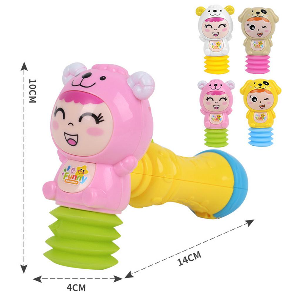 Toy Hammer With Light Sound Effects And Comfortable Grip For Toddlers
