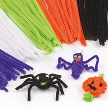 100pcs Montessori Materials Chenille Children Educational Toy Crafts For Kids Colorful Pipe Cleaner Toys Craft 2020 NEW(China)