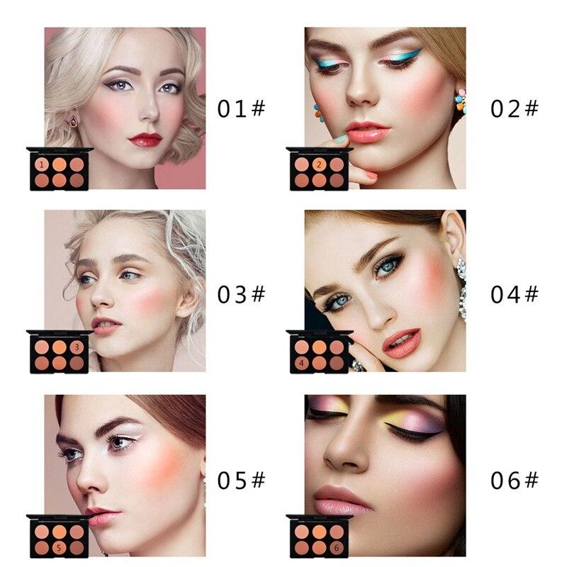 Blush 6 Colors
