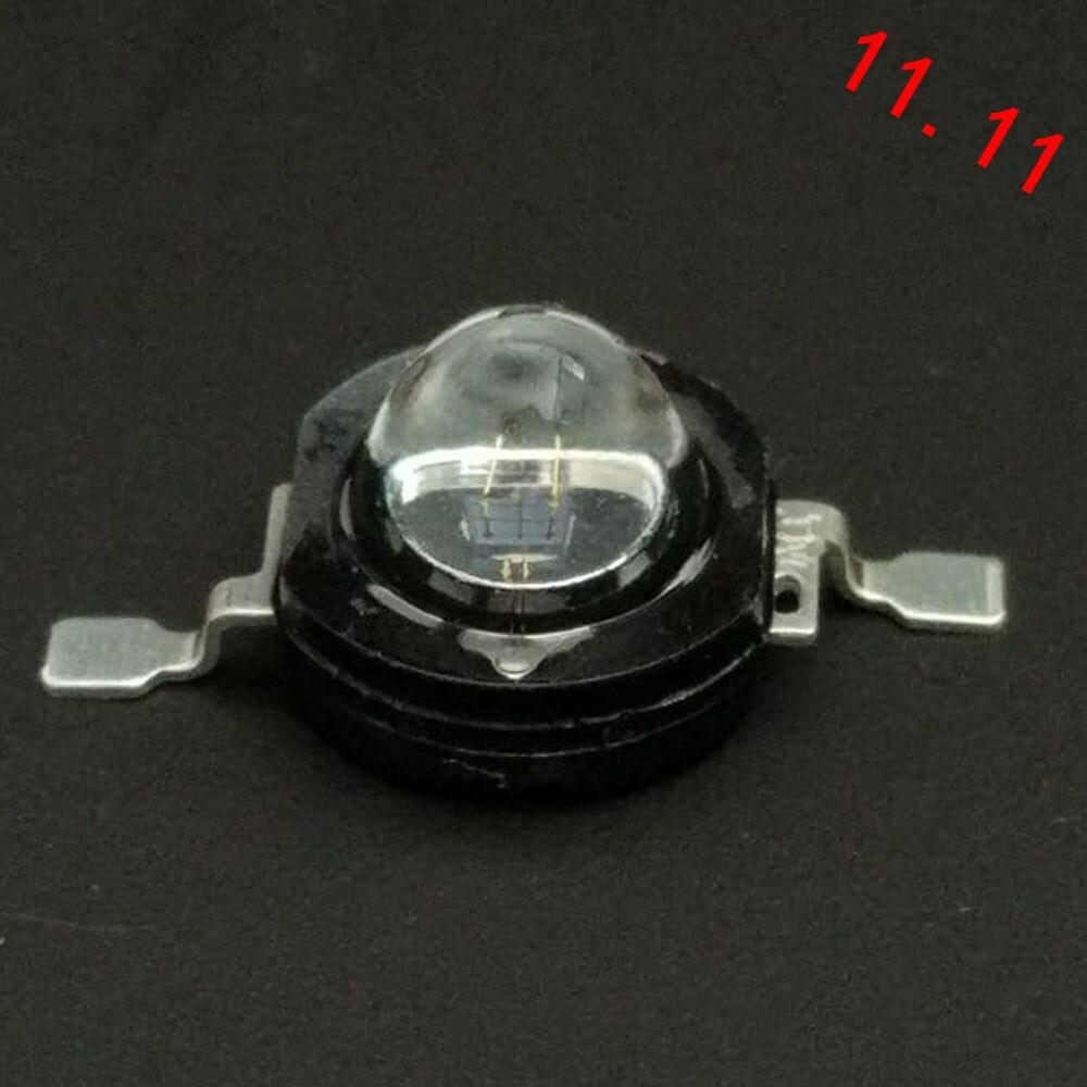 5 pçs/lote 1W diodo infravermelho de alta potência led infravermelho 850nm IR lâmpada para invisível vigilância CCTV Camera 60 graus ou 120 graus