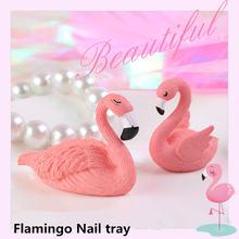 Подставка для ногтей настольная основа практики фламинго поднос