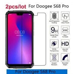 На Алиэкспресс купить стекло для смартфона 2.5d 9h tempered glass for doogee s68 pro screen protector toughened protective film for doogee s68 pro glass