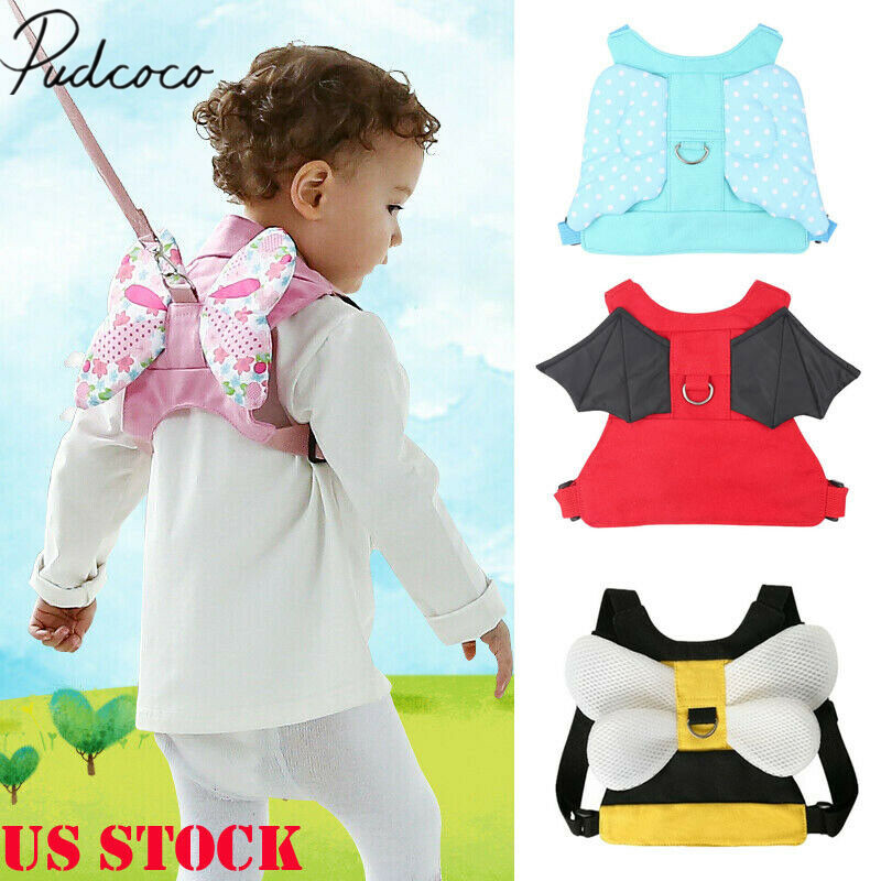 Safety Harness Baby Strap Toddler Walking Keeper Backpack Anti Lost Leash FL US