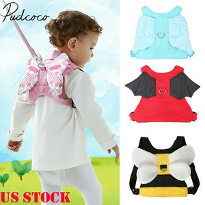 2019 Baby Accessories Safety Harness Baby Kid Strap Toddler Walking Keeper Backpack Anti Lost Leash(China)