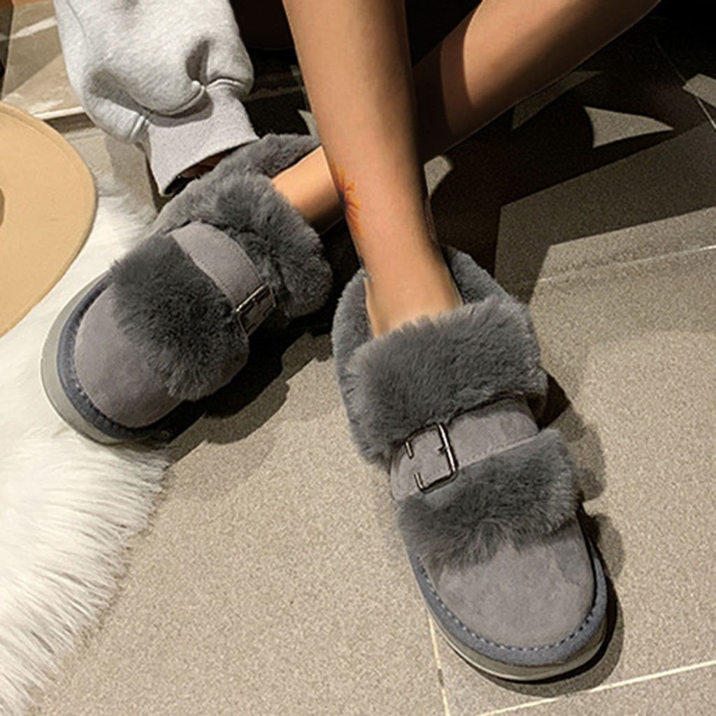 Quality Woman Boots Snow Ankle Boots Plush lining Heels Shoes Woman Female Warm Comfort Boots 2019 Flat 56