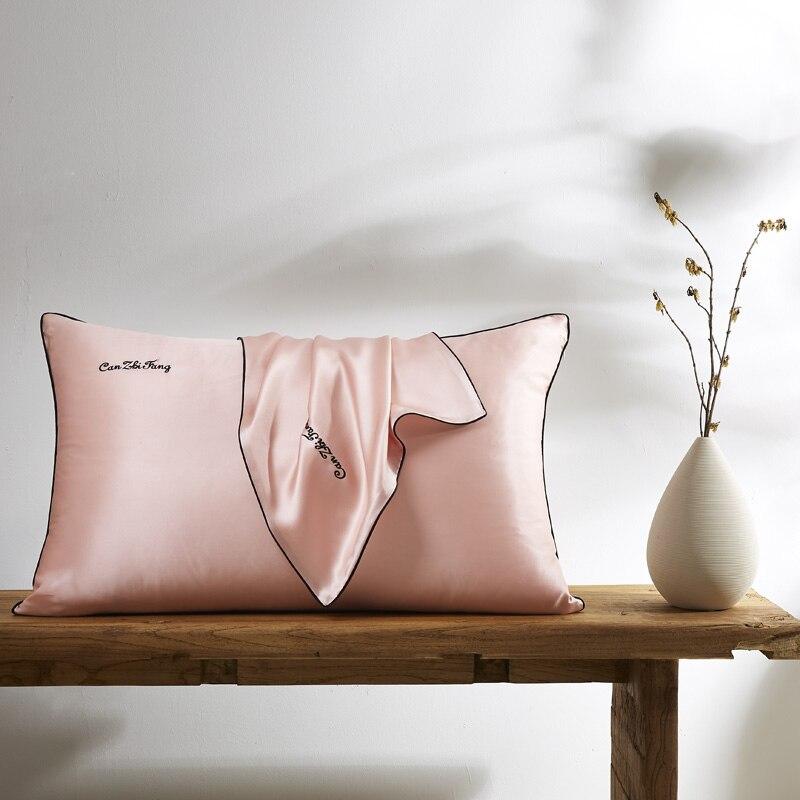 100 nature mulberry Silk pillowcase Envelop pillowcases pillow case for healthy Queen multicolor