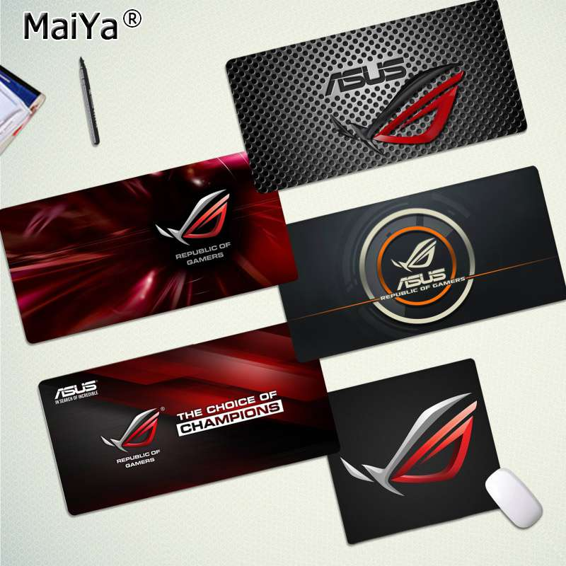 Maiya Custom Skin ASUS Locking Edge Mouse Pad Game Free Shipping Large Mouse Pad Keyboards Mat
