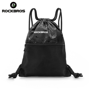 ROCKBROS Men Women Gym Bag Drawstring High Capacity Backpack Outdoor Sports Training Cycling Storage Bag Multipurpose Yoga Bag