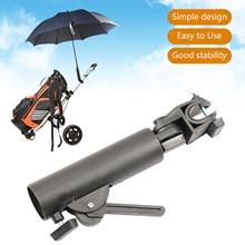 Angle Ajustable Swivel Double Lock Golf Club Trolley Pushchair Umbrella Holder Adjustable Umbrella Support Stand Universal