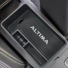 รถกลางกล่องคอนเทนเนอร์คอนเทนเนอร์กล่องสำหรับ Nissan Altima 2019 2020อุปกรณ์เสริม