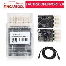 Narzędzie diagnostyczne OBD2 Tactrix Openport 2.0 ECU Chip stroik otwarty Port USB 2.0 lampa błyskowa ECU OBD2 dla Mitsubishi dla skanera JLR