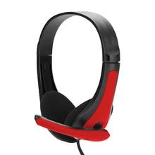3.5MM Headphone Headset Headband With MIC Wired Hea