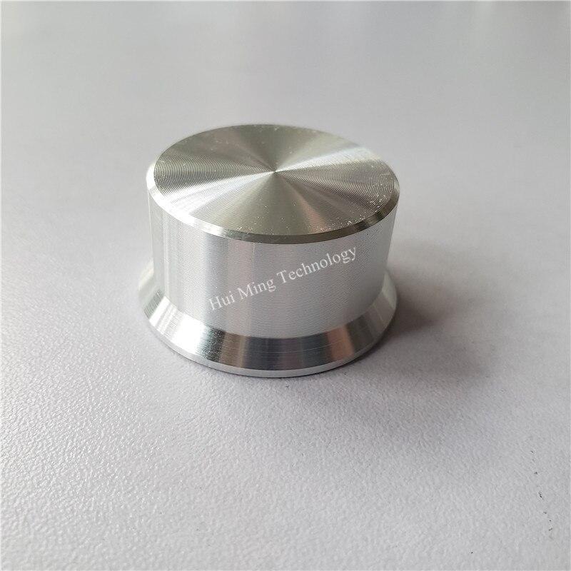 8pcs Aluminum Plastic Knob Potentiometer Knob 34*17*6mm D Shaft Potentiometer Cap Volume Knob Switch Cap For HI-FI Amplifier