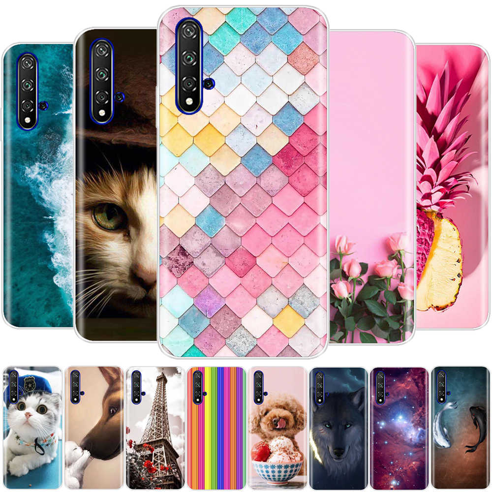 Honor 20 Pro Case Silicon Back Cover Phone Case Huawei Honor 20 Case Cover Huawei Honor 20 Lite Case Honor 20 Pro Honor20 20lite