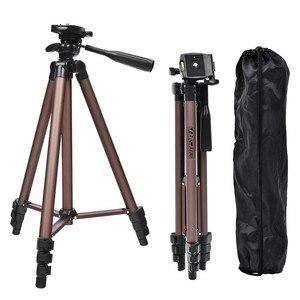 Image 4 - Fosoto profesyonel kamera Tripod standı taşınabilir alüminyum tripodlar için tutucu ile Canon Nikon Sony DSLR kamera kamera telefonu