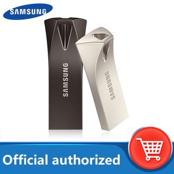 SAMSUNG USB Flash Drive Disk BAR PLUS 32GB 64GB 128GB 256GB USB3.1 pen drive up to 300MB/S pendrive memory USB flash disk