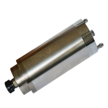 цена на 1pcs  4.5KW 5.5KW spindle motor water cooled 80mm 65mm ER11 ER16 ER20 110V 220V engraving machine spindle motor for cnc