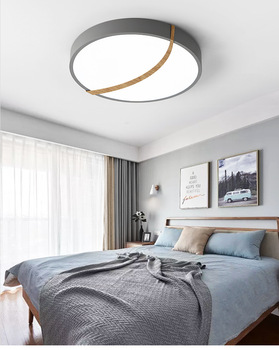 Nordic Wooden Ceiling Lamps Lights LED Bedroom Living Room Dining Modern Ceiling Lamps Round Balcony Porch plafondlamp Lighting