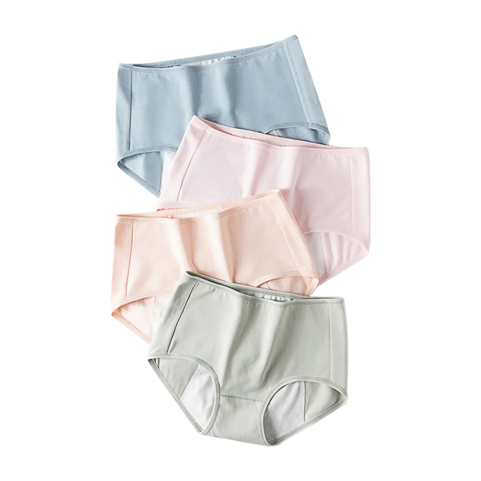 Seamless Mid-waist Breathable Women's Physiological Underwear