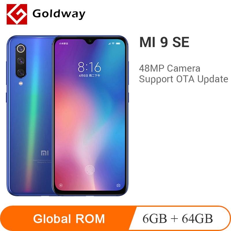 "Global ROM Xiaomi Mi 9 SE 6GB RAM 64GB ROM Smartphone Snapdragon 712 Octa Core 5.97"" 48MP Triple Camera Mi9 SE All Curved Design"
